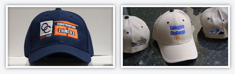 Custom Embroidered Hats, Cap Embroidery Services San